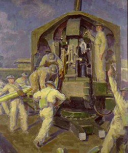 Gun Crew - Acquired 1982 by Henry Lamb 1883-1960