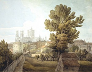 The Minster of York from the City Walls - Acquired 1987 by John White Abbott 1753-1861