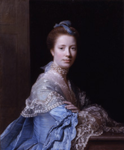 Jean Abercromby, Mrs Morrison of Haddo - Acquired 2003 by Allan Ramsay 1713-1784